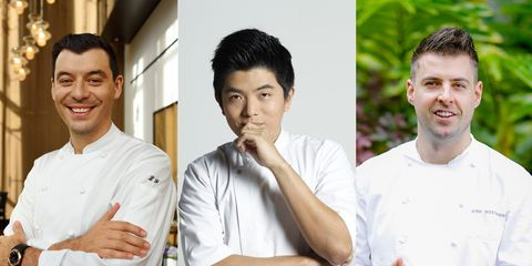 Chef, Cook, White-collar worker, Smile, Gesture,