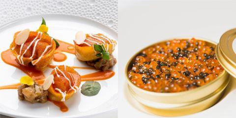 Dish, Food, Cuisine, Ingredient, Comfort food, Caviar, Produce, Garnish, Recipe, À la carte food,
