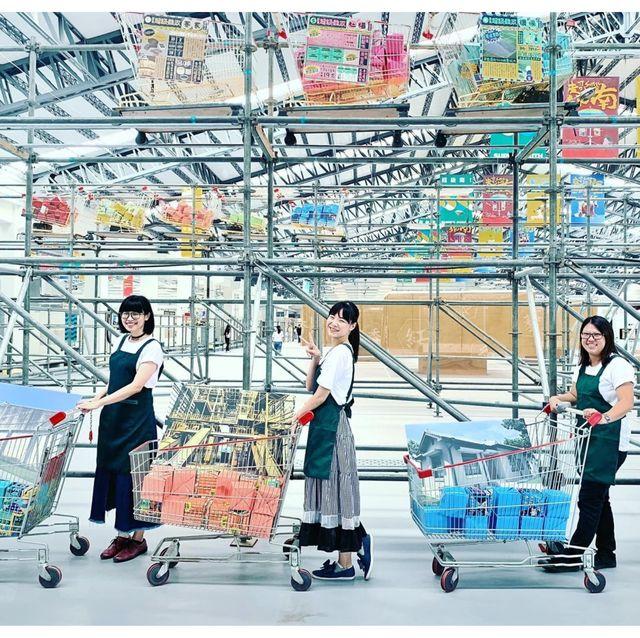 2019台灣設計展將展場變身超級市場