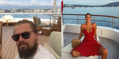 李奧納多與女友出遊狂做鬼臉,超醜畫風令粉絲直呼「男神完全崩壞了!」