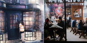 哈利波特主題咖啡廳