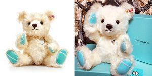 日本 Tiffany & Co. 限定白毛「Steiff 泰迪熊」!限量800隻,只有日本境內買得到!