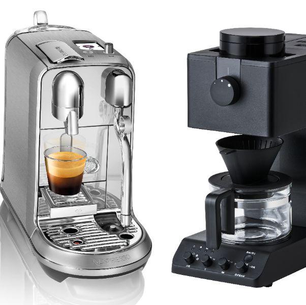 本篇為咖啡控們蒐集10款外觀美型,而且具有多功能的義式咖啡機、膠囊咖啡機等等,讓你在家就能輕鬆喝到職人級咖啡!