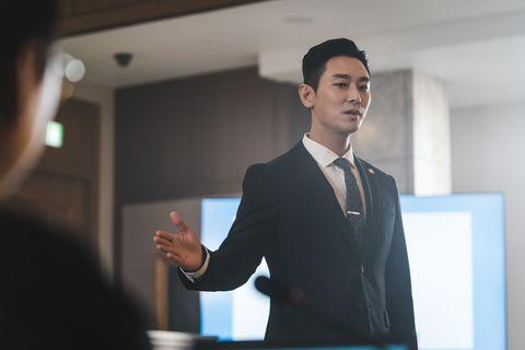 「白狼」朱智勛主演的新戲《Hyena:富豪辯護人》