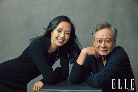 李安拍攝elle雜誌封面與好友許芳宜深度對談