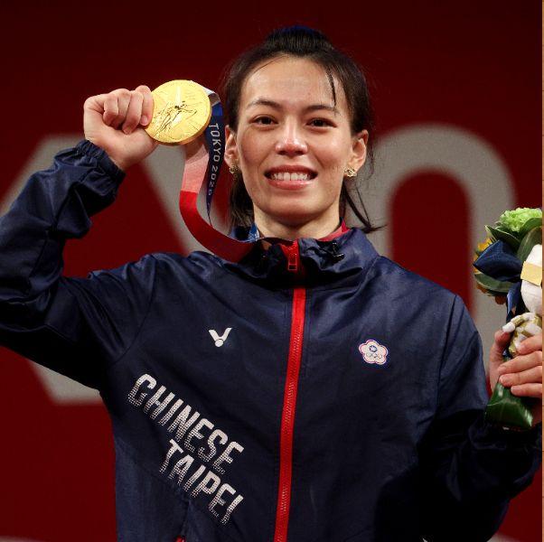 東京奧運中華隊奪金牌!舉重女神郭婞淳:「有多少次的成功,就有多少次的失敗!」