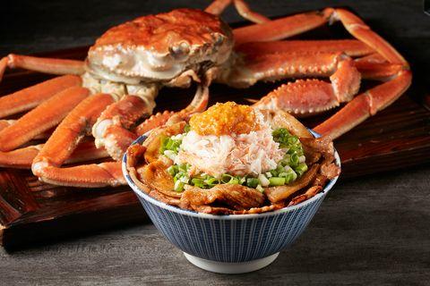 開丼松葉蟹燒肉宴