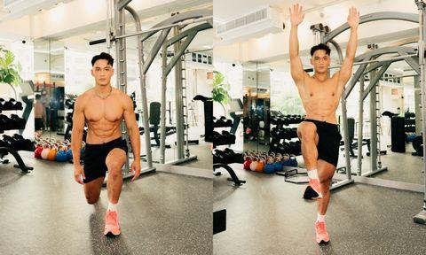 3個動作瘦全身!ig天菜教練親授「站立式徒手運動」爆瘦大腿、下腹
