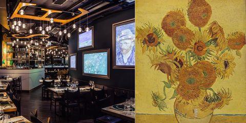 梵谷主題餐廳,梵谷餐廳,Van Gogh SENSES2