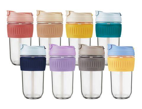 樂扣「清心北歐隨行杯」推出4款新色,「tritan珍奶杯」於網購平台同步上市!