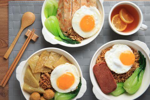 Dish, Food, Cuisine, Meal, Ingredient, Breakfast, Fried egg, Comfort food, Brunch, Poached egg,
