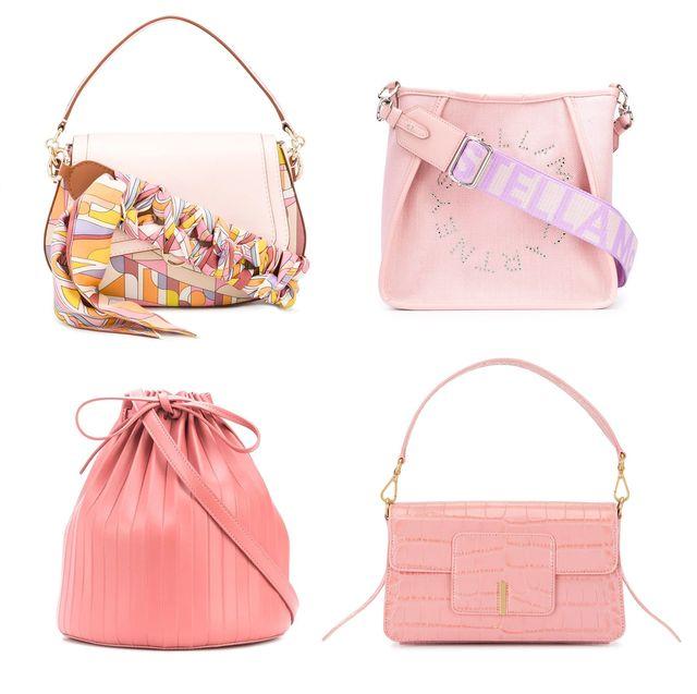 櫻花粉嫩色包款