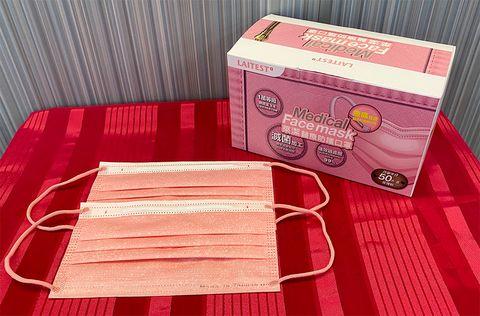 萊爾富「牛仔玫瑰粉」醫療口罩預購