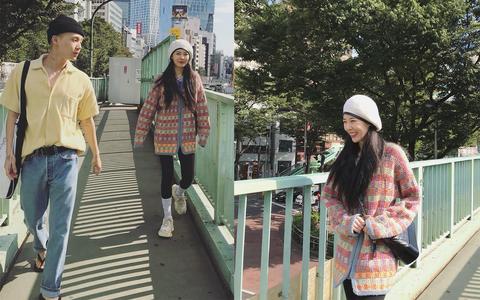 這組照片是兩人自公開戀情後首次同框,照片中泫雅與男友E'Dawn大方牽手散步於日本街頭,兩人時而互看對方,眼裡充滿愛意,泫雅也綻開甜笑,相當幸福。