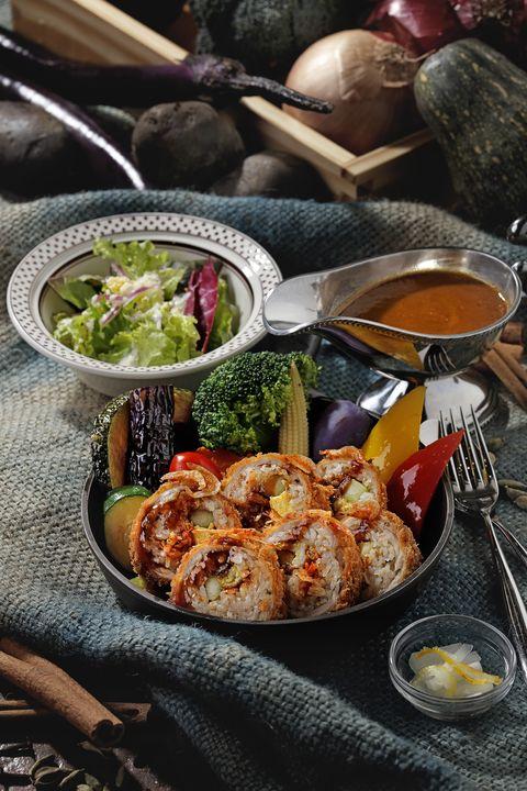 台北咖哩推薦!泰迪農園咖哩推出「櫻花蝦」系列料理,酥脆口感+滿滿香氣一次滿足