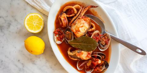 Dish, Food, Cuisine, Ingredient, Produce, Bouillabaisse, Seafood, Recipe, Cacciucco, Clam,