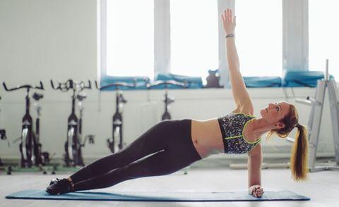 平板支撐plank棒式10個變化!學起來瘦全身,練腹肌超有感