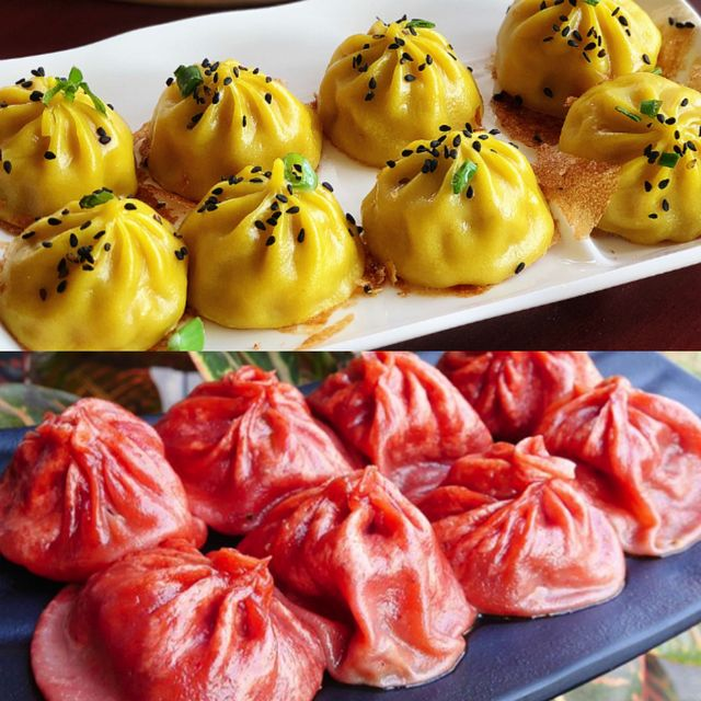 小籠湯包,台灣小吃,古早味,臭豆腐,麻婆豆腐,痲辣湯包,彩色湯包