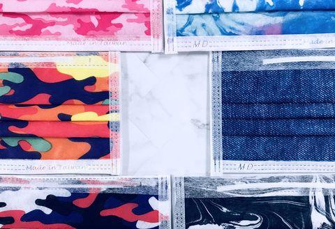 pinkoi攜手臺灣口罩國家隊,即日起獨家開賣質感設計口罩, 「秋冬高級色」、「浪漫仙女色」