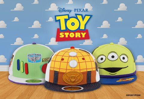 《NEW ERA x玩具總動員》聯名帽款系列