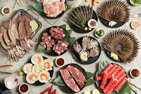 海鮮達人電商品牌「佐佐鮮」 「澎湃海陸燒烤宴」