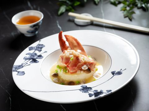 米其林一星「雅閣」中餐廳秋季新菜大啖滿滿海鮮
