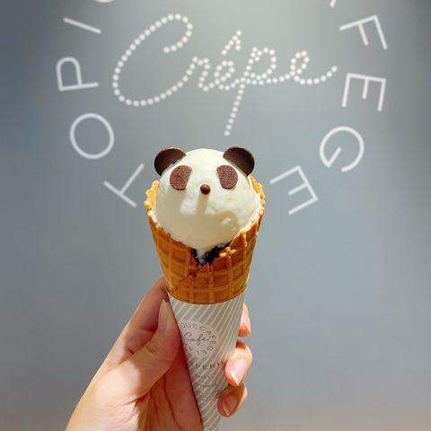 gelato pique caf'e皮克咖啡可麗餅屋推出熊貓系列商品