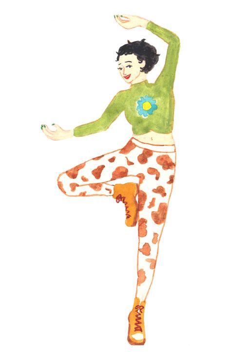 Illustration, Fashion illustration, Leggings, Trousers,