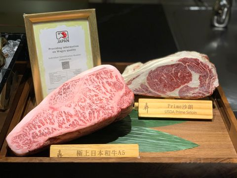 一口將近千元的奢侈美味!「犇 鐵板燒」推出A5和牛牛排三明治+5公分超厚切和牛牛排