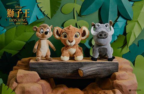 迪士尼經典《獅子王》推出限量周邊商品!《獅子王》電影版辛巴、娜娜玩偶套票限量發售