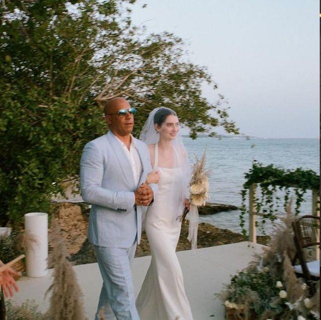 《玩命關頭》保羅沃克女兒終於找到幸福!時尚圈寵兒22歲梅朵沃克結婚了  仙氣五官與私服穿搭也被熱搜