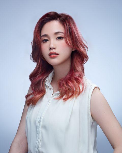 2021髮色趨勢!仙氣爆棚「花系染」鳶尾、玫瑰花漾染美得像精靈