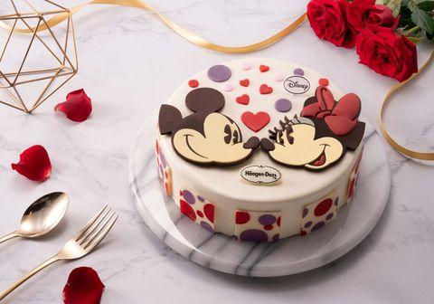 哈根達斯迪士尼冰淇淋蛋糕