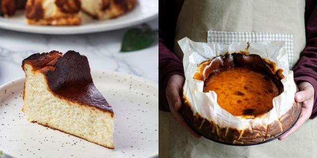 咖啡廳必點香濃起司巴斯克乳酪蛋糕食譜只要五種材料超簡單