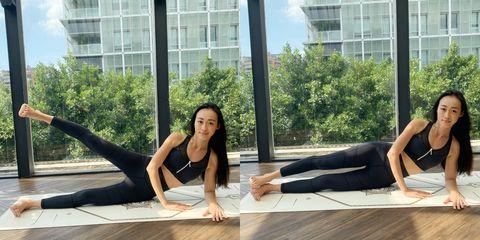 堅持7天,大腿瘦一圈!瑜伽老師公開「5組瘦腿操」,有效燃燒大腿馬鞍肉,打造纖細筷子腿