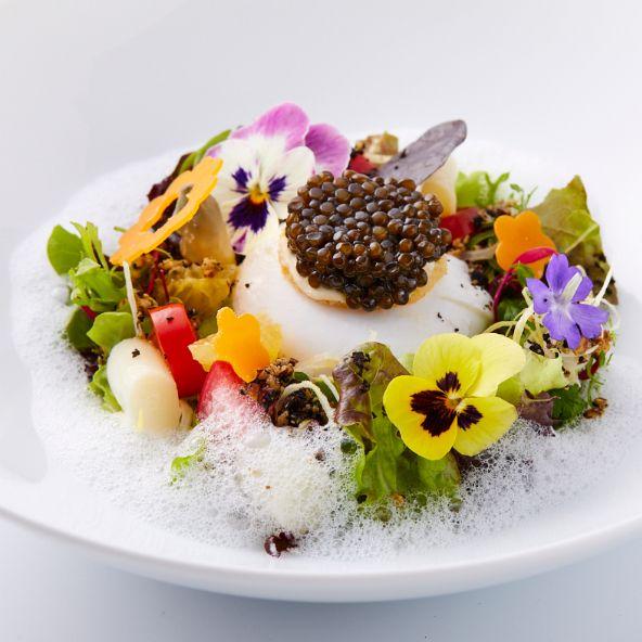 米其林一星法國餐廳「鹽之華」春季菜單公開