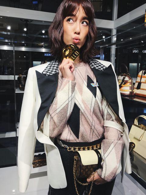 LV快閃店, Louis Vuitton,路易威登, 約會穿搭, 陳庭妮,穿搭,逛街