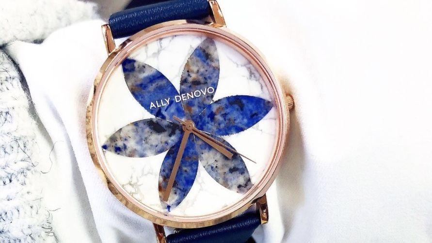 手錶,ALLY DENOVO,花樣大理系列, 大理石, 2018人氣手錶, 必備款式, 手工, 獨一無二