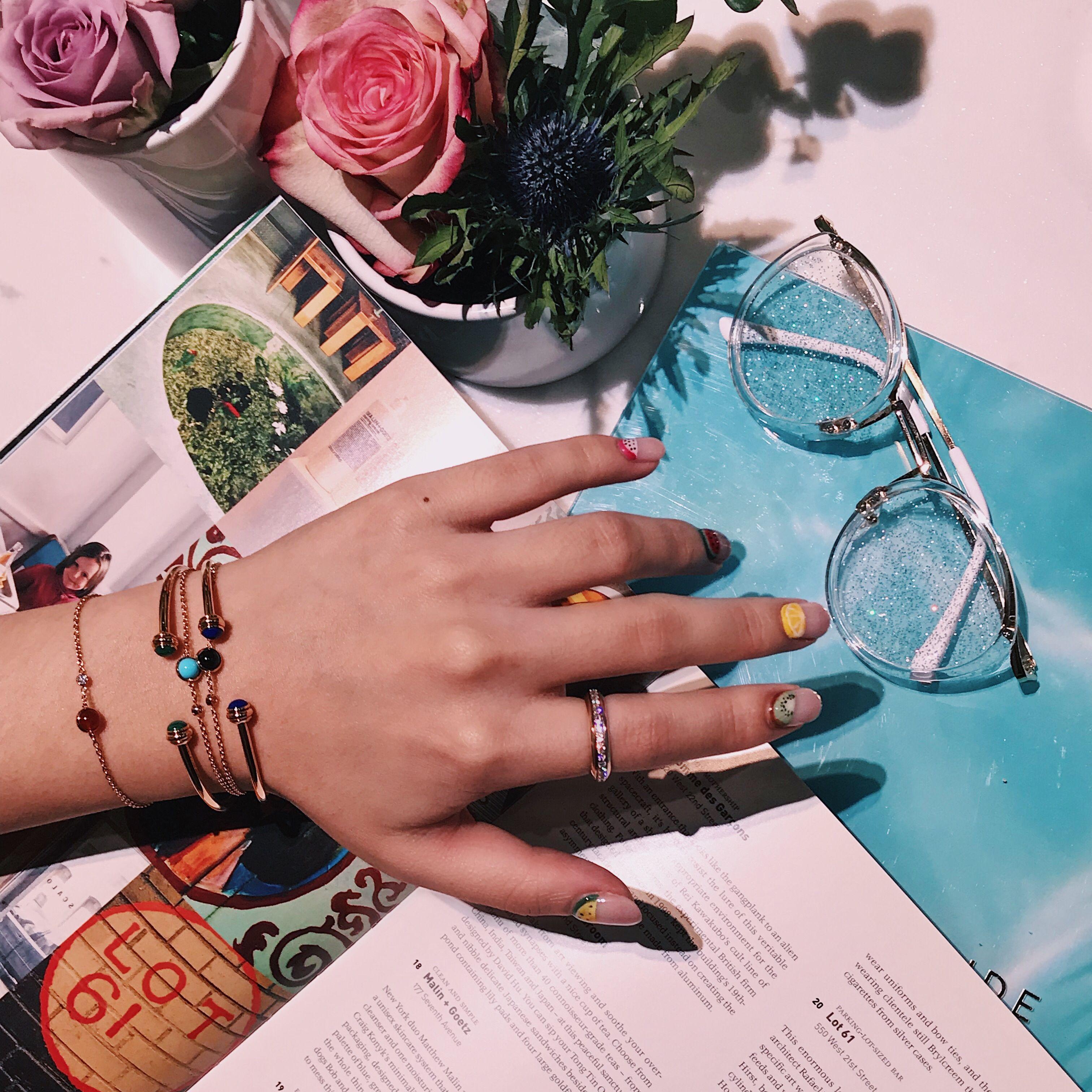 閨蜜手鍊,手鍊,手鐲,Piaget Possession,Piaget,珠寶,輕珠寶,手錶,七夕,情人節,