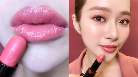 Lip, Face, Pink, Cheek, Skin, Lipstick, Eyebrow, Cosmetics, Beauty, Chin,