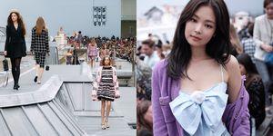 【巴黎時裝週】香奈兒讓模特兒在屋頂上走秀!BLACKPINK Jennie 愛到每套都想要