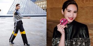 楊丞琳受邀參加巴黎時裝週 Louis Vuitton春夏大秀