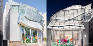 首爾逛街打卡景點+1!LV 旗艦店新開幕 找設計鬼才Frank Gehry 打造摩登透明玻璃建築  外觀美店內更好逛