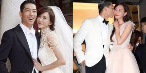林志玲和Akira 台南世紀婚禮直擊!從迎娶到晚宴派對多套婚紗造型設計大公開  每套都夢幻到讓人美哭