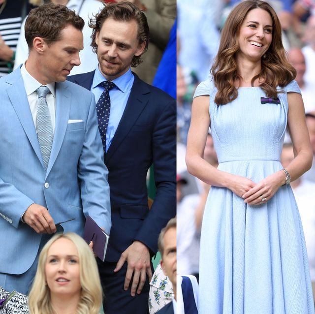 2019 溫布頓網球賽 名人穿搭 天空藍變成熱門色