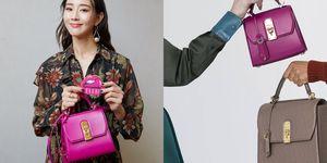 張鈞甯同款的櫻桃粉小方包台灣也有賣!Ferragamo全新BOXYZ 包款揹起來百搭又有氣質