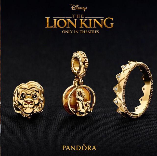 pandora 獅子王 迪士尼聯名