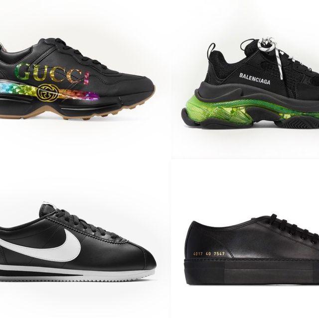 【球鞋上癮症】小黑鞋怎麼都百搭又帥氣!20+個性女生必備 網購人氣款黑色運動鞋推薦