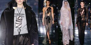 TOM FORD 2020 秋冬大秀首度推出超性感透視蕾絲婚紗!秀上手機殼+Airpods 套也讓人超想擁有