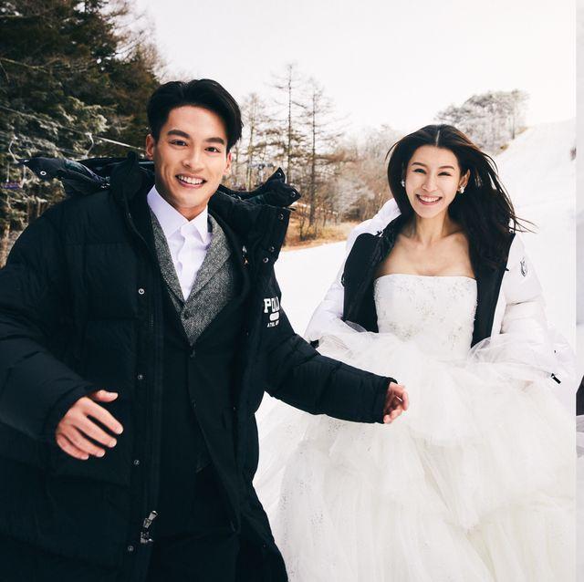 許孟哲、趙孟姿 日本滑雪場的雪地婚紗美翻!想和另一半出國旅行順便拍時髦海外婚紗照 這幾件事先筆記